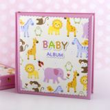 Baby Girls Zoo Photo Album With Keepsake Box