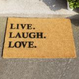 Live Laugh Love Doormat