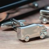 Personalised Lorry Cufflinks