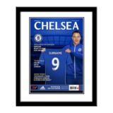 Personalised Chelsea Magazine Cover - Framed
