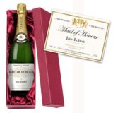 Maid of Honour Personalised Champagne