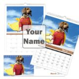 Personalised Dog Calendar