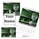 Personalised Sci-Fi Calendar