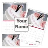 Personalised Wedding Calendar