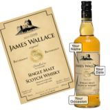 Personalised Retirement Malt Whisky