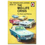 Personalised Ladybird Books For Adults - The Mid-life Crisis