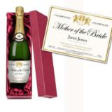 Mother of the Bride Personalised Champagne