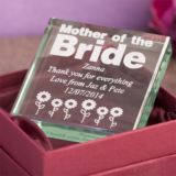 Mother of the Bride Keepsake