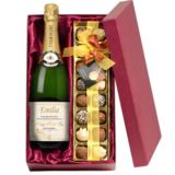Mother's Day Personalised Champagne and Chocolates