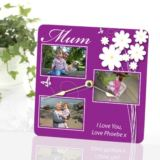 Mother's Day Personalised Photo Clock