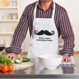 Personalised Moustache Apron