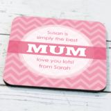 Personalised Mum Coaster