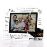 Nan Glass Photo Frame