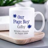 Personalised Page Boy Mug