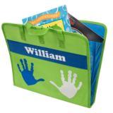 Personalised Blue & Green Art Folder