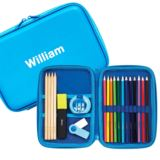 Personalised Blue Bubble Stationery Set