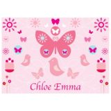 Personalised Butterfly Placemat
