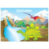 Personalised Dinosaur Placemat