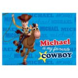 Personalised Disney Pixar Toy Story 3 Heroes Placemat