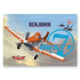 Personalised Disney Planes Placemat