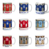 Personalised Football Dressing Room Mug