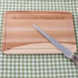 Personalised Beech Chopping Board