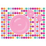 Personalised Set the Table Placemat - Girl