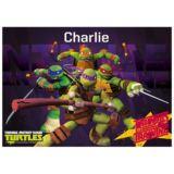 Personalised Teenage Mutant Turtles Placemat
