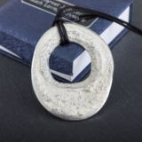 Personalised Wishing Well Pewter Pendant by Award Winning Emily G