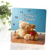 Teddy Bear Personalised Clock
