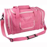 Personalised Pink Sports Bag