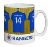 Personalised Rangers Dressing Room Mug