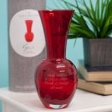 Dartington Personalised Handmade Red Urn Vase