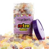 Personalised Jelly Babies Sweet Jar