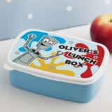 Personalised Robot Splat Design Lunch Box