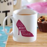 Simply the Best High Heel Shoe Design Personalised Mug
