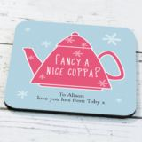 Personalised Teapot Design Coaster