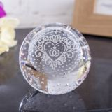 Special Day Celebration Paperweight By Caithness Glass