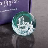 Special Moments Rocking Horse Paperweight By Caithness Glass