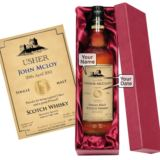 Personalised Usher Malt Whisky