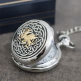 Welsh Dragon Personalised Pocket Watch