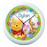 Disney Winnie the Pooh Personalised Name Clock
