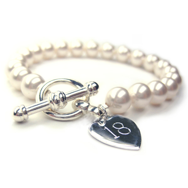 18th Birthday Personalised Forever Bracelet