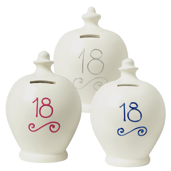 Personalised 18th Birthday Terramundi Money Pot - 18th Birthday Gifts