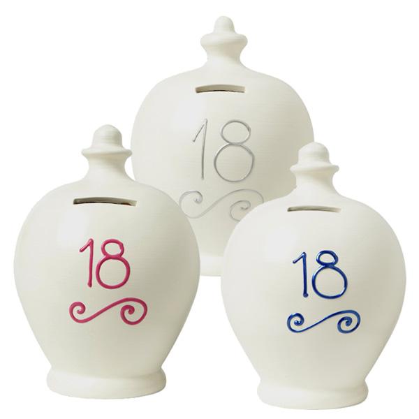 Personalised 18th Birthday Terramundi Money Pot