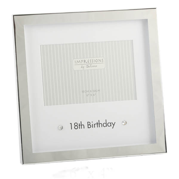 18th Birthday Box Photo Frame