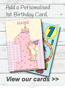 Personalised 1st Birthday Cards