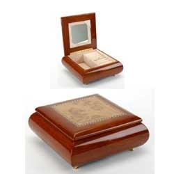 Piano Finish Musical Jewellery Box