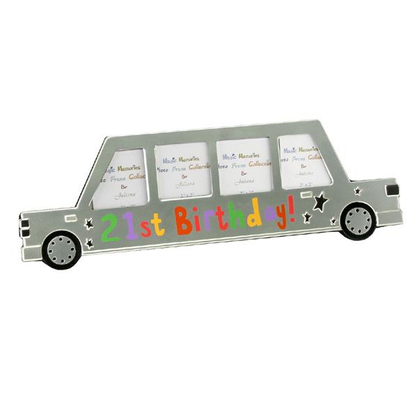 21st Birthday Limousine Style Frame - 21st gift