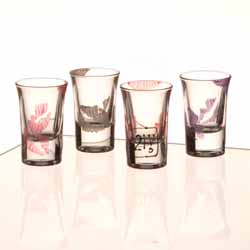 21st Birthday Lip Shot Glasses